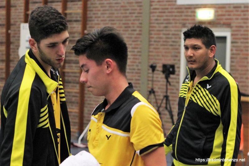 Aram Mahmoud, Sebastiaan Li en Dave Khodabux