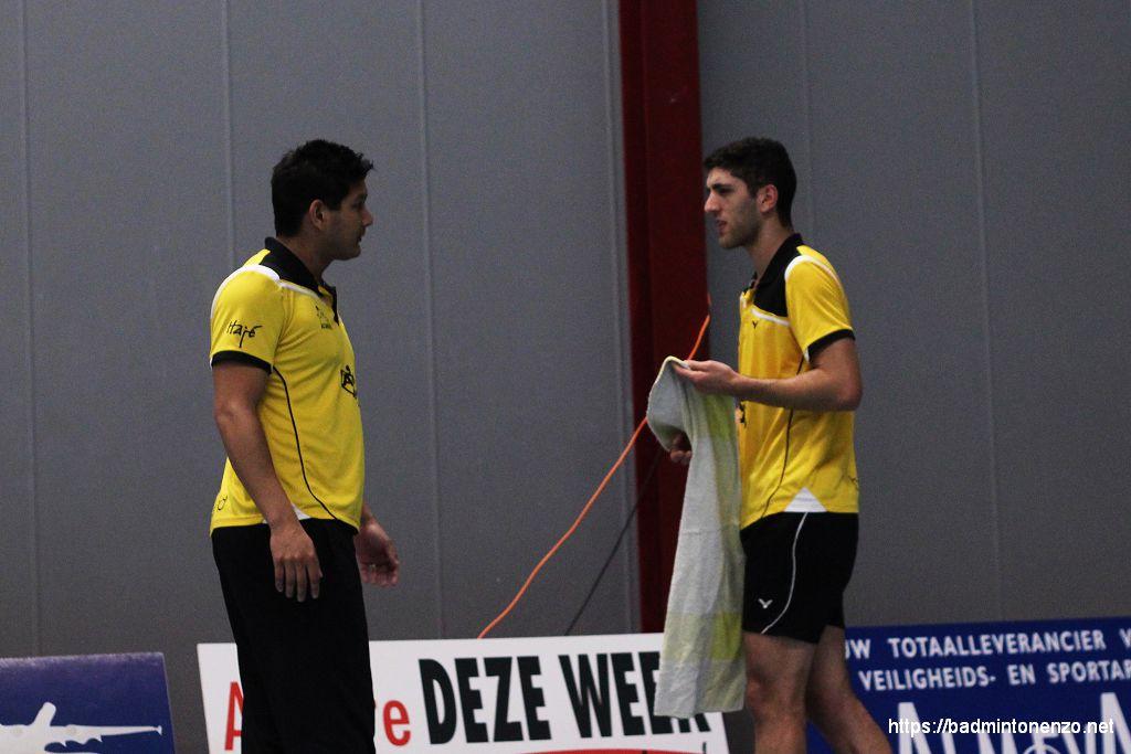 Dave Khodabux en Aram Mahmoud