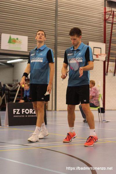 Joran en Ruben Kweekel
