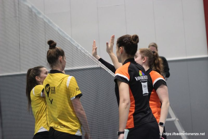 Rosalie Teuben, Judith van Cruchten, Akvile Stapusaityte, Debora Jille