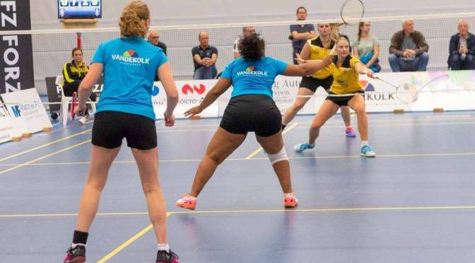 Ook winst Tweede wedstrijd AviAir Almere @BadmintonNLD @BCAmersfoort