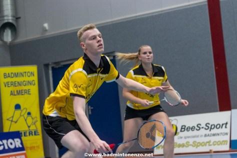 Timo Stoffelen en Tamara van der Hoeven