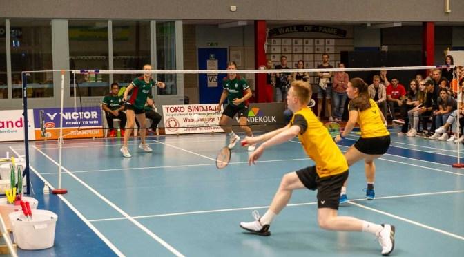 Avi Air Almere – Velo 5-3 de foto's @BadmintonNLD @Velobadm