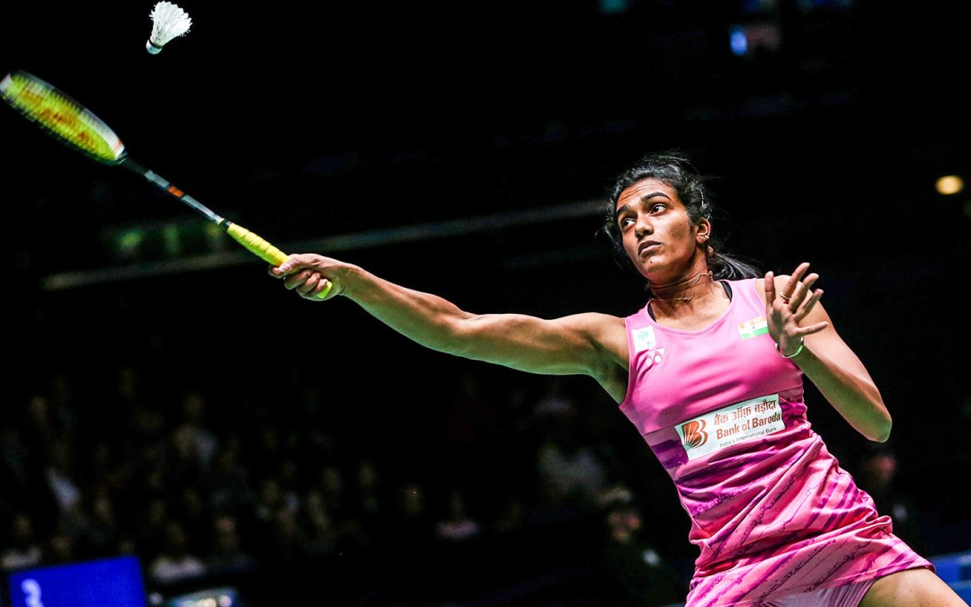 Sindhu going for the title!