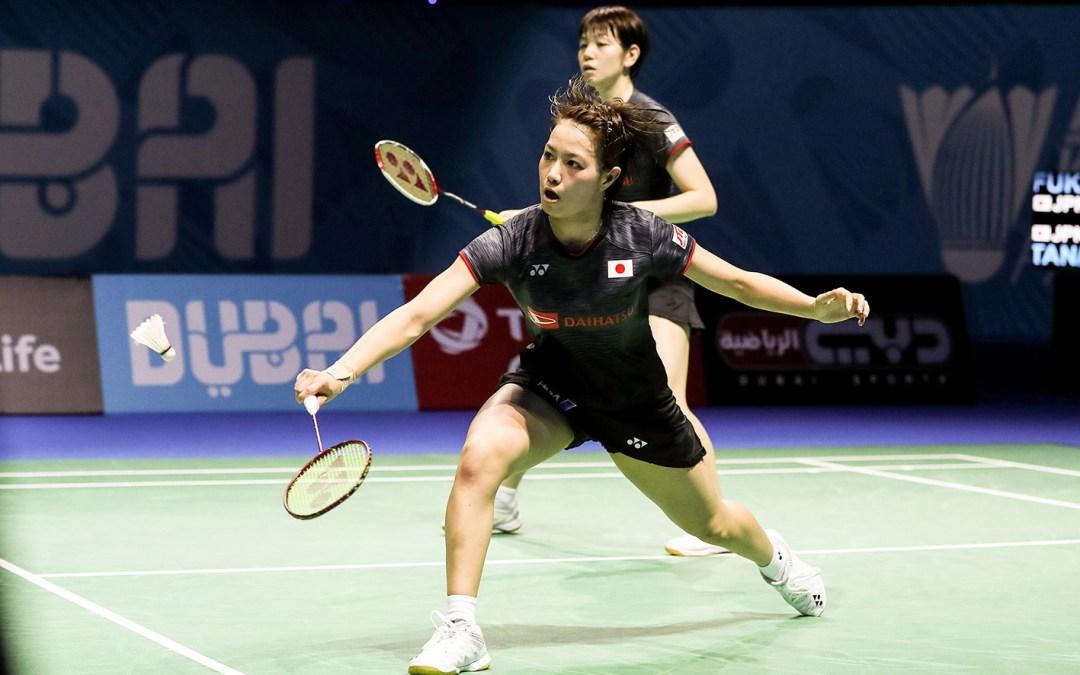 Konnichiwa, Nanjing! Japanese dominance in women's double