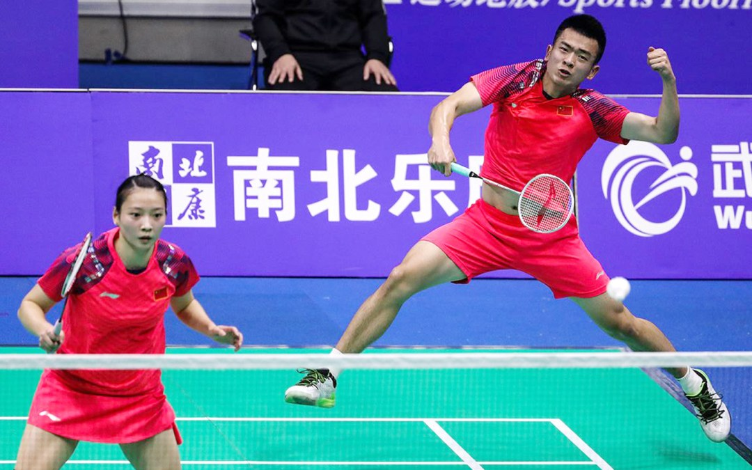 WC finals: Chinese spectators spoiled with all-Chinese mixed double