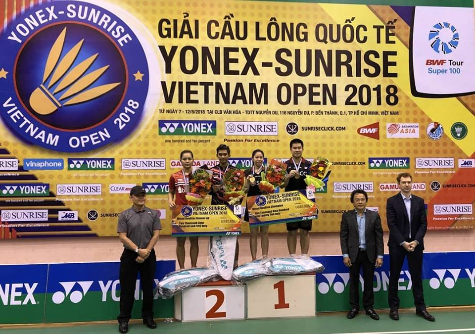 Five countries shared the titles in Vietnam
