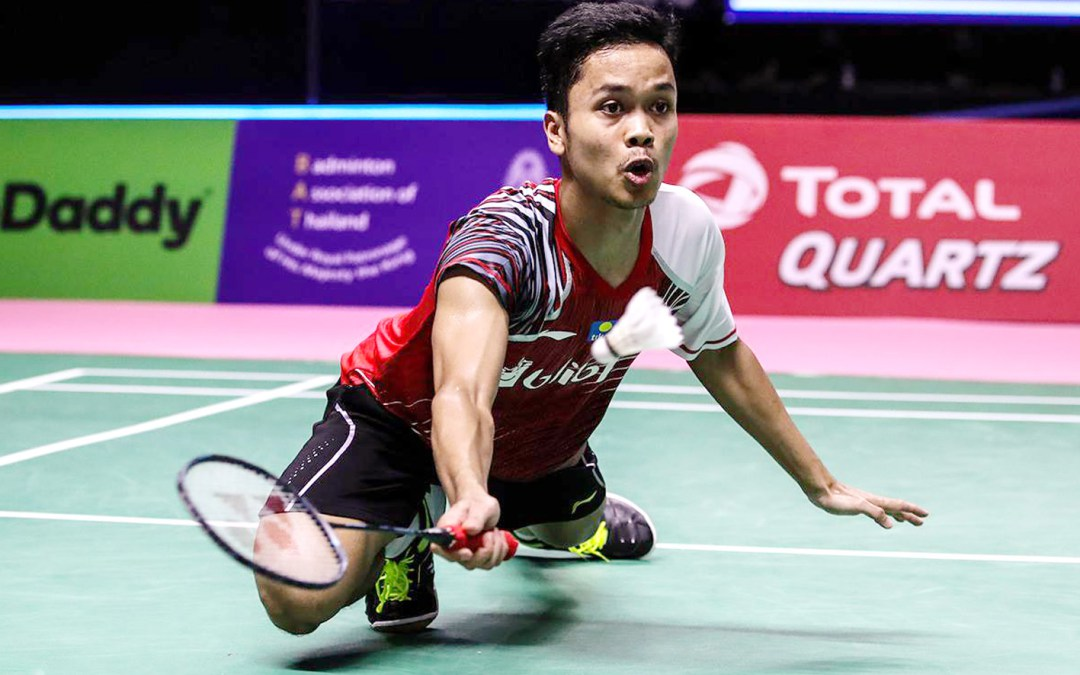 Ginting is on a roll – now ready for the semi's
