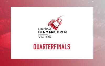 Denmark Open Quarterfinals – Predictions