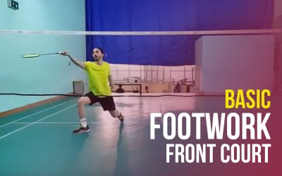 Perfect footwork front court