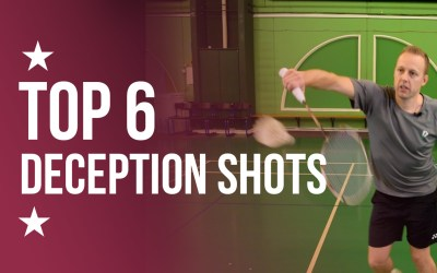 Top 6 deception shots