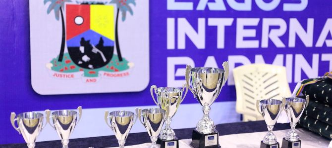 PICTURES: 2nd Lagos International Badminton Classics. Day 1.