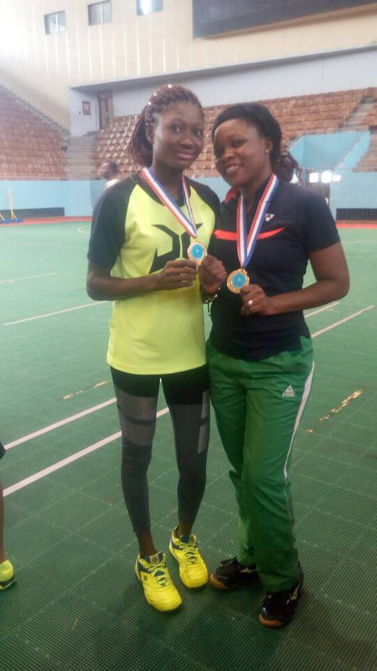 L-R: The duo of Dorcas and Tosin