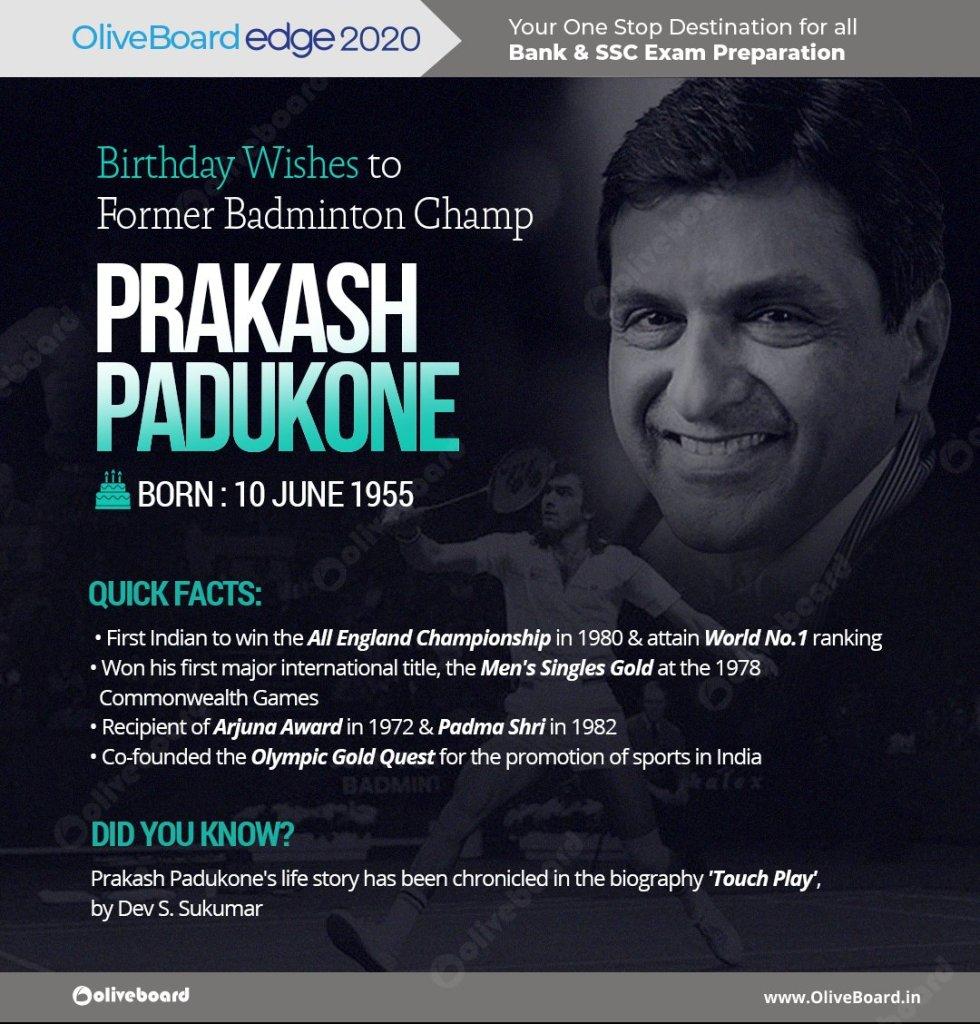 EaIJ eXWkAUVTpV - Prakash Padukone, the first Indian to attain World No. 1 badminton ranking, was born on June 10, 1955. Birthday wishes to this Champion Shuttler.Get Free eBooks here Shuttle Badminton PrakashPadukone Deepikapadukone BadmintonChampion