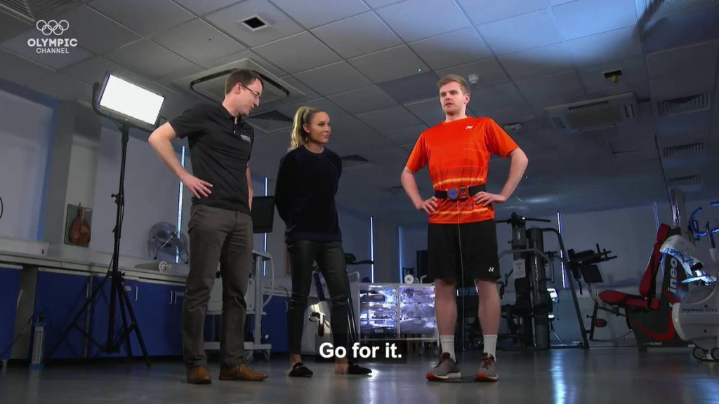 X F2eGNvbBgIQqCR - What makes an elite badminton player Through physically exhausting tests weve tested Olympian Marcus Ellis anatomy and physique _marcus111