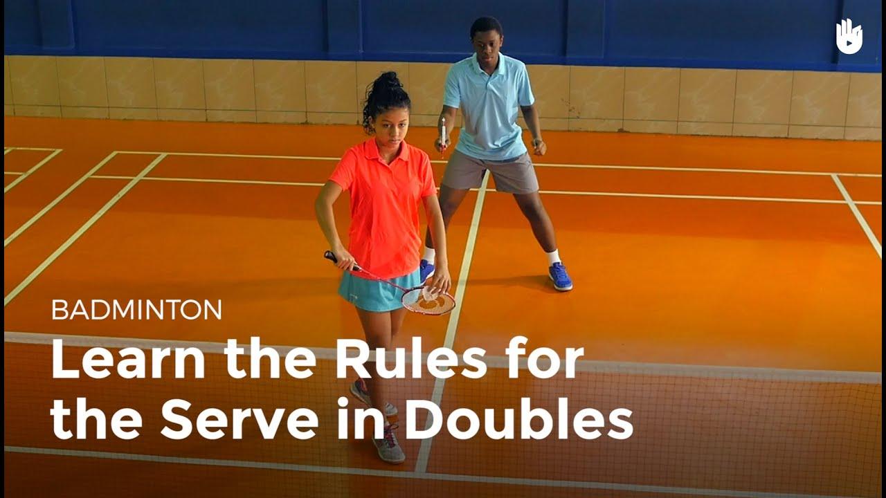 maxresdefault 49 - Serve: Doubles Rules | Badminton