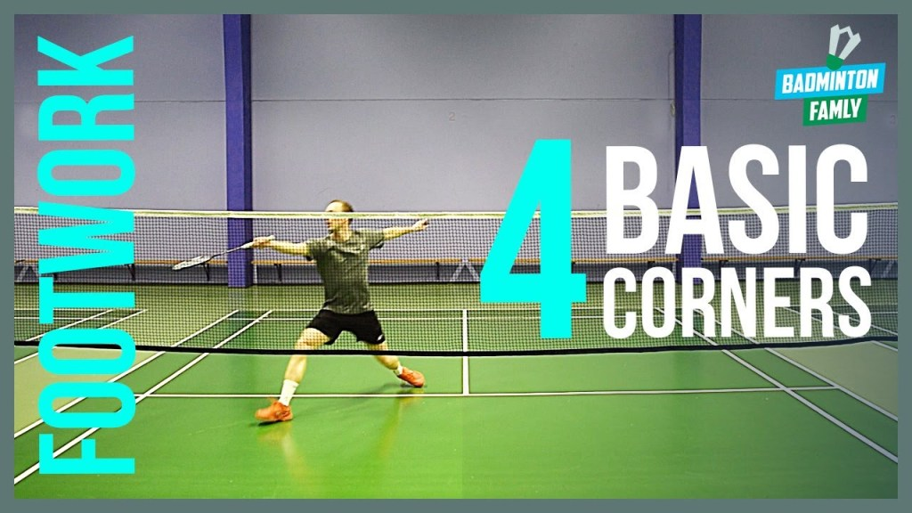maxresdefault 61 - Basic FOOTWORK badminton - 4 corners