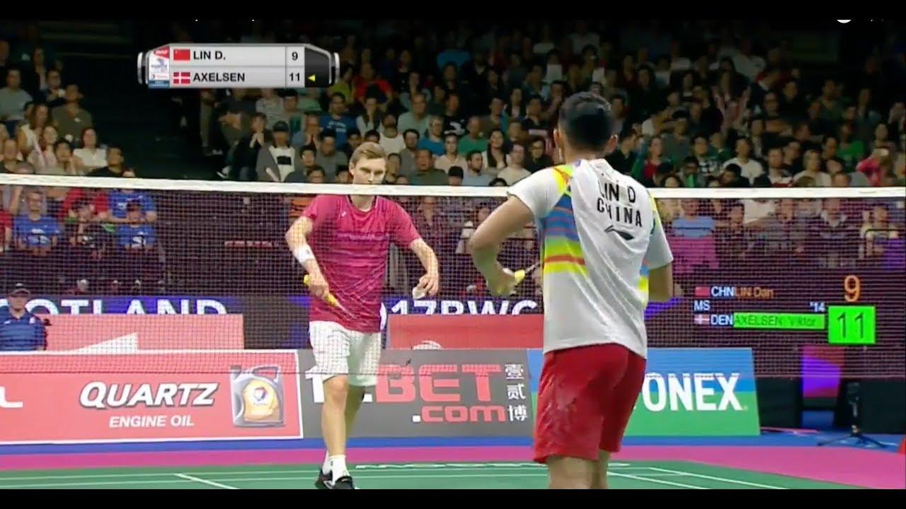 maxresdefault 82 - TOTAL BWF World Championships 2017 | Badminton F M3-MS | Lin Dan vs Viktor Axelsen