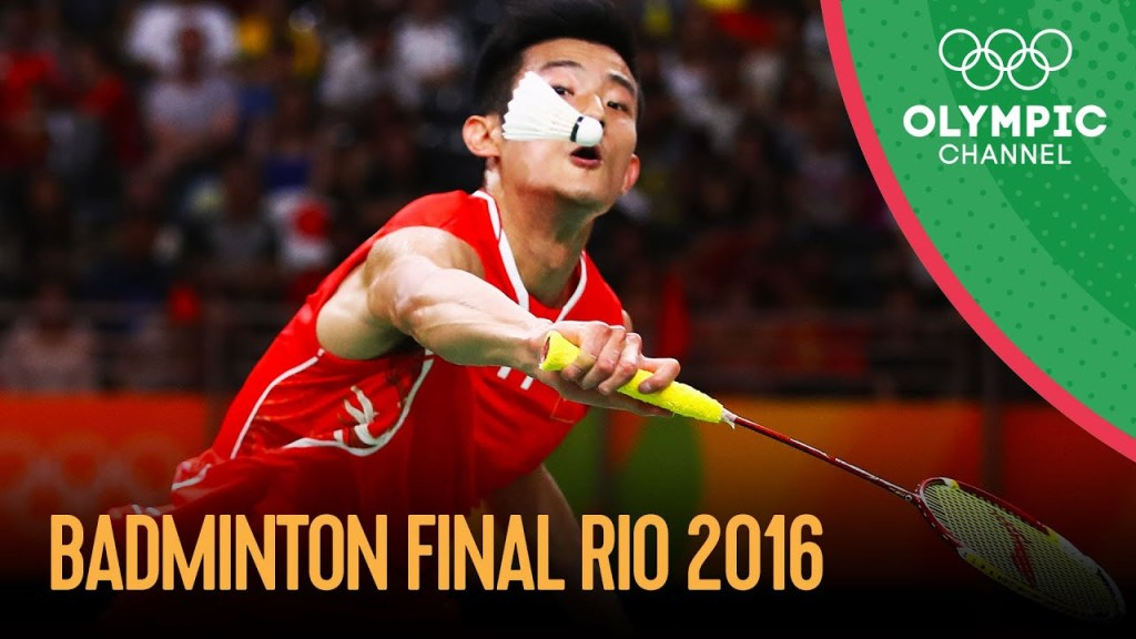 maxresdefault 12 - Men's Singles Badminton Final   Rio 2016 Replays