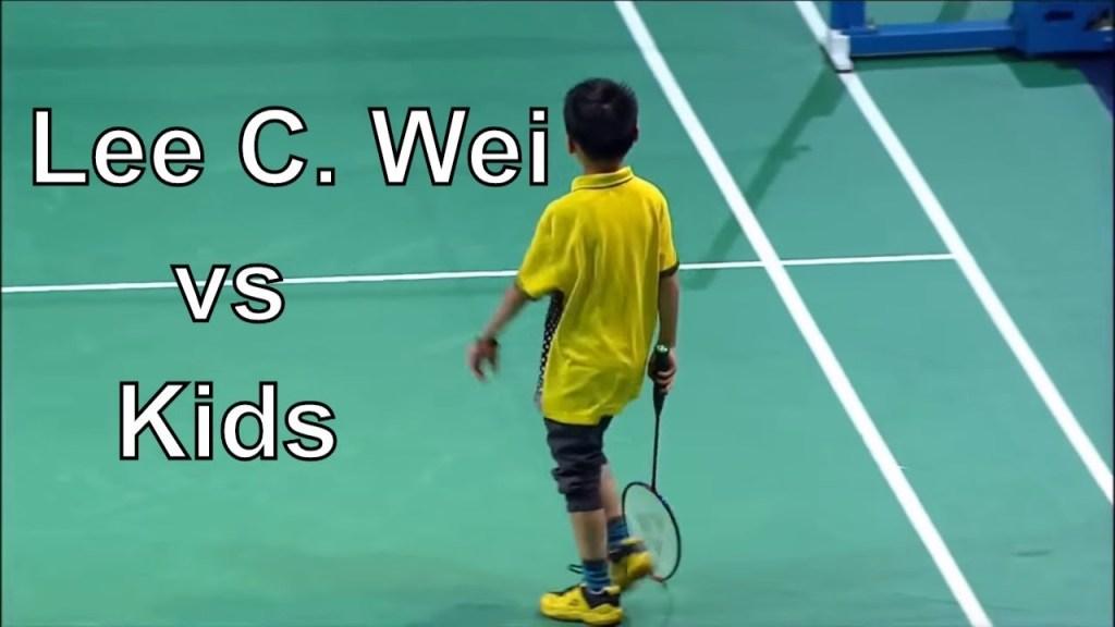 maxresdefault 7 - Cukup Seru Lee Chong Wei Badminton dengan Anak Anak Kecil