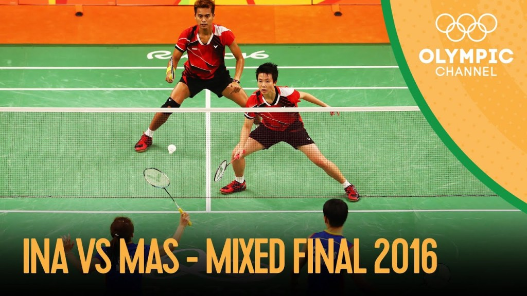 maxresdefault 8 - Badminton Mixed Doubles Gold Medal Match 🇮🇩🆚🇲🇾   Rio 2016 Replays
