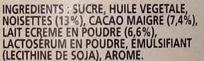 nutella huile de palme