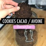Cookies cacao healthy