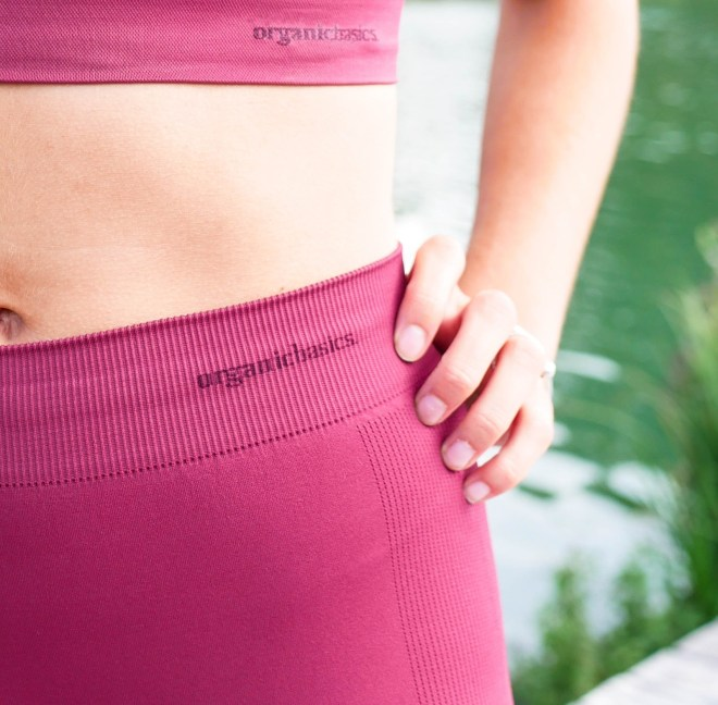 Seconde peau organic basics, leggings et brassière