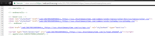 Archive.org copy of ShowtimeAnytime.com