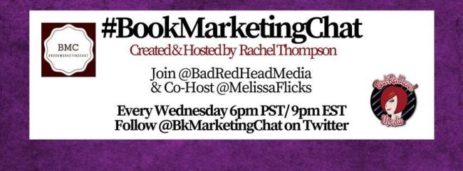 BadRedhead Media #BookMarketingChat @BkMarketingChat