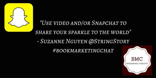This is How to Use Snapchat for Book Marketing and Author Branding by @MelissaFlicks, @BadRedheadMedia, #SnapChat, #SocialMedia