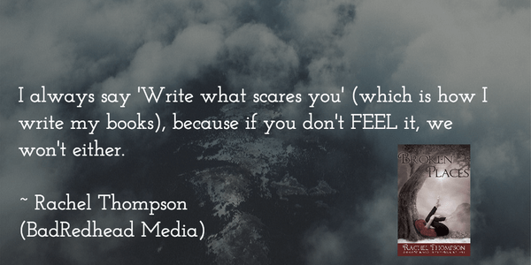 4 Top Tips to Overcome Your Fear of Writing by Rachel Thompson, BadRedhead Media, Writing, Tips, @BadRedheadMedia