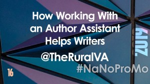 How Working With An Author Assistant Helps Writers by Guest @TheRuralVA via @BadRedheadMedia and @NaNoProMo #Assistant #author