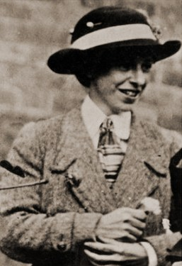 Photograph of Mary Richardson in 1914