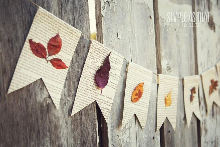 Knustelplezier met herfstbladeren.