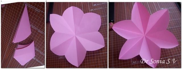 Papieren bloem maken stappenplan diy 002 I Creatief Lifestyle blog Badschuim