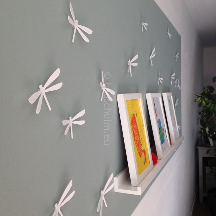 Libellen als wanddecoratie van Umbra I Creatief Lifestyleblog Badschuim