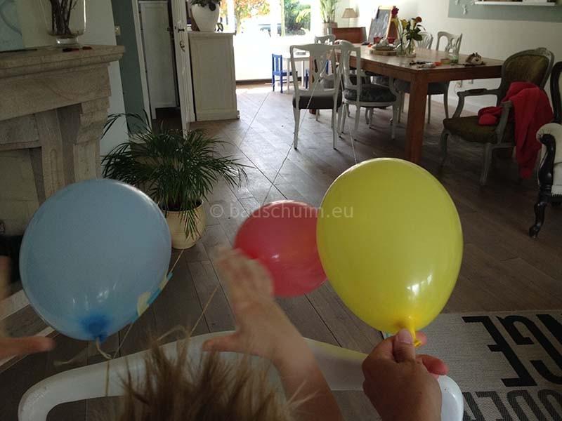Ballon race 02 I Creatief Lifestyle blog Badschuim