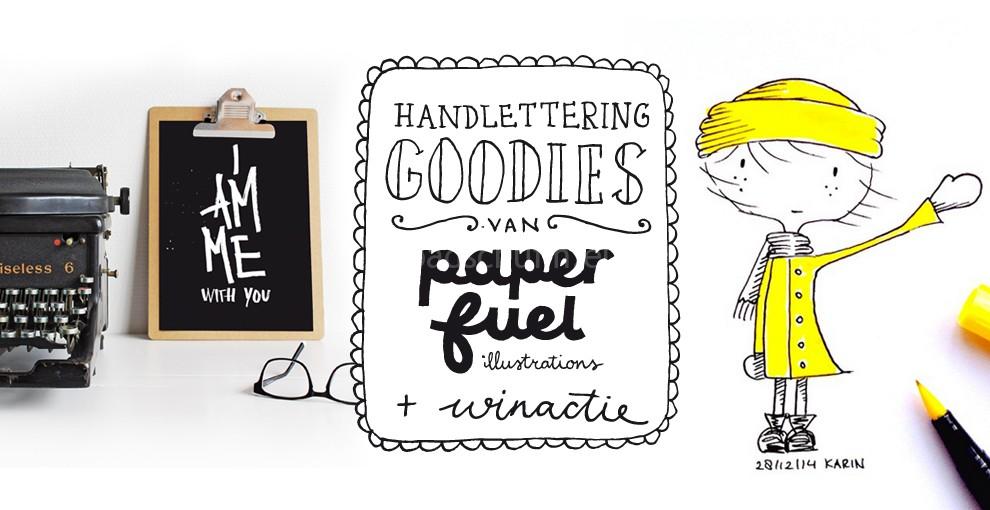 Handlettering Goodies van Paperfuel