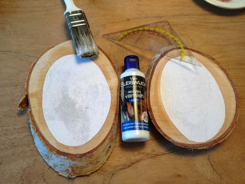 Bekend Foto op hout zelf maken • Badschuim IC02