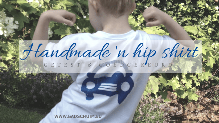 Handmade hip - coole kids shirts I Review by creatief lifestyle blog Badschuim