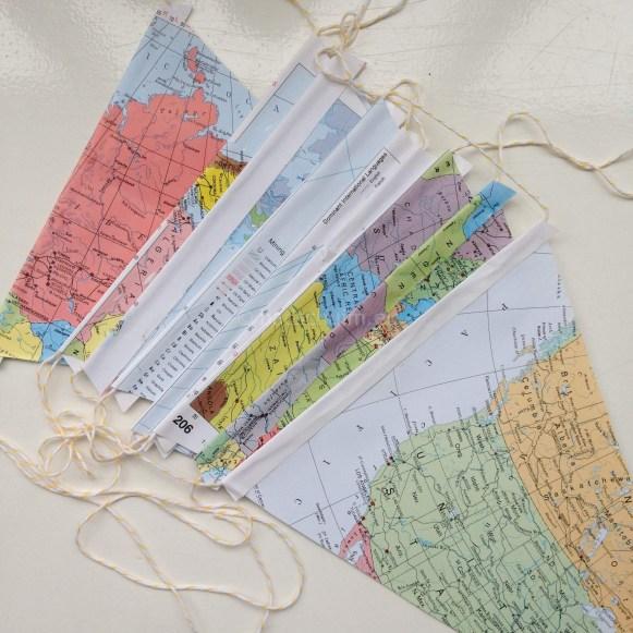 Vakantie vlaggenlijn DIY zelf maken I gemaakt door het creatief lifestyle blog Badschuim