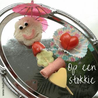 Broodtrommel tips wk 2 - Op een stokkie 01 I gemaakt door het creatief lifestyle blog Badschuim