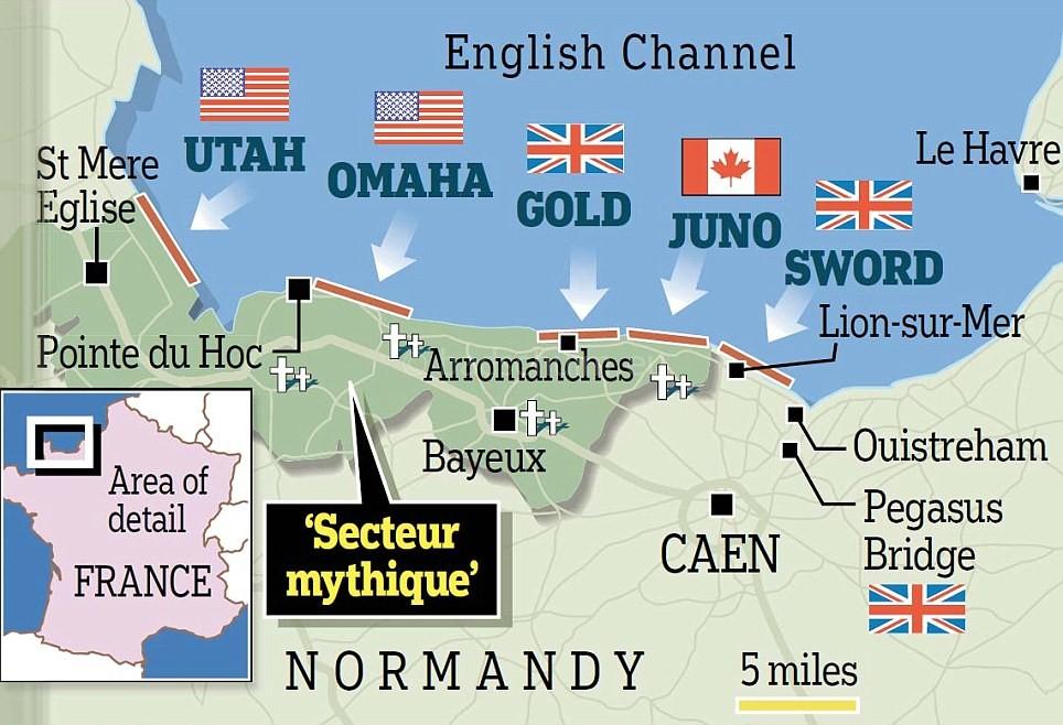 Invasie stranden Frankrijk kaart I een vakantieverslag van creatief lifestyle blog Badschuim