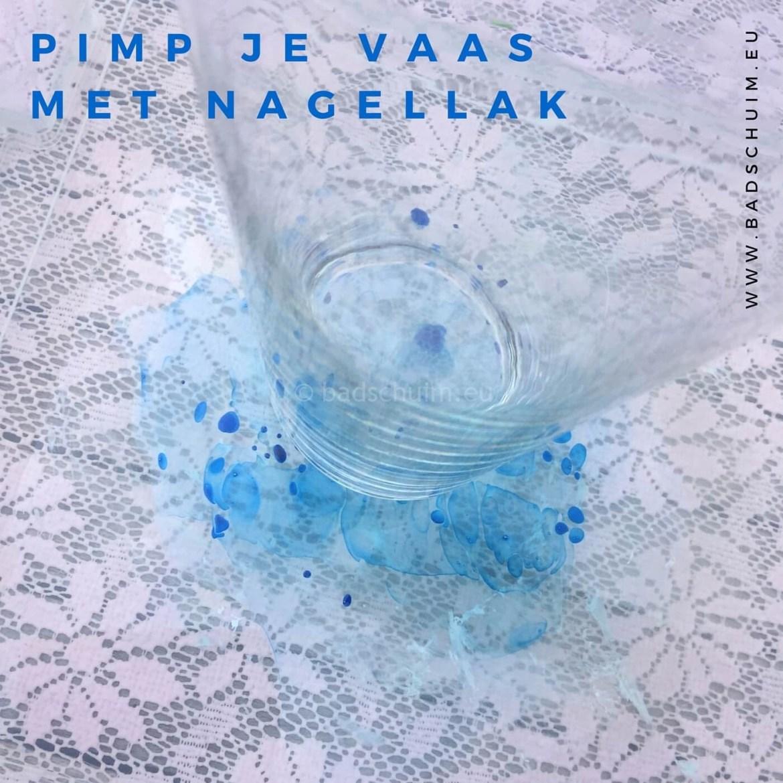 Pimp je vaas met nagellak_DIY stappenplan 01 I creatief lifestyle blog Badschuim