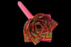Washi tape bloem diy
