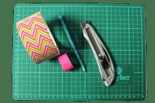 Washi tape bloem diy_wat heb je nodig_gemaakt door knutselen met kinderen