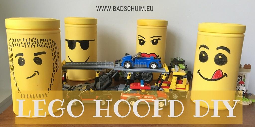 LEGO FUN hoofd DIY I stappenplan gemaakt door het creatief lifetstyle blog Badschuim