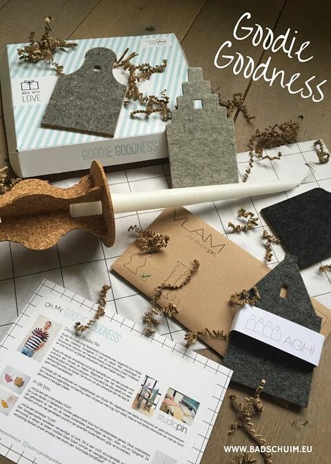 Goodie Goodness -Een brievenbusbox designers liefde I review door het creatief lifestyle blog Badschuim