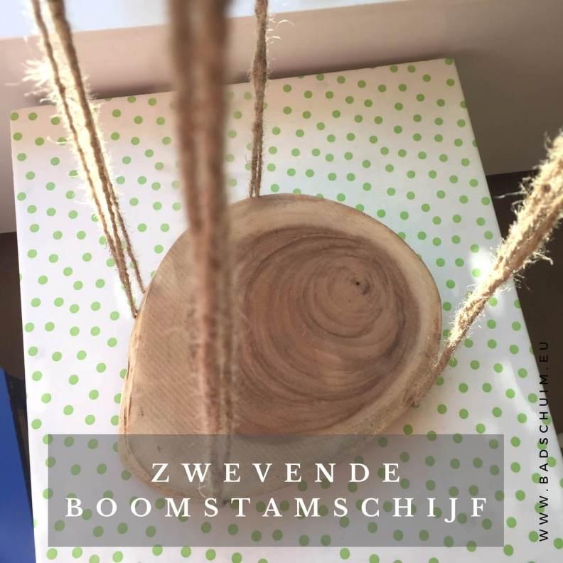 zwevende boomstam schijf I stap 3 I gemaakt door het creatief lifestyle blog Badschuim